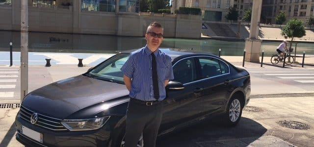 chauffeur privé VTC à Montpellier